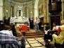 Il Profeta Don Gallo nella chiesa di Monte Marenzo (03.06.2012) - Foto di Sergio Vaccaro