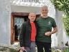 Giuseppe Cederna e il rifugista Dario Pensa