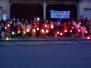 """Le lanterne tricolori per """"M'illumino di meno"""" (18.02.2011) - Foto Angelo Gandolfi e Fabrizio Malighetti"""