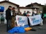 La solidarietà viene dal cielo. Paracadutisti per Telethon (12.12.2010) - Foto Adriano Barachetti