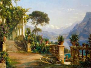 Aagaard_Carl_Frederic_-_Lodge_on_Lake_Como-2