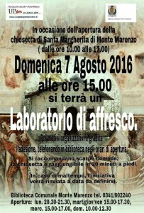 Lab. affresco S.Marghe