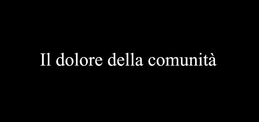 dolore_della_comunità