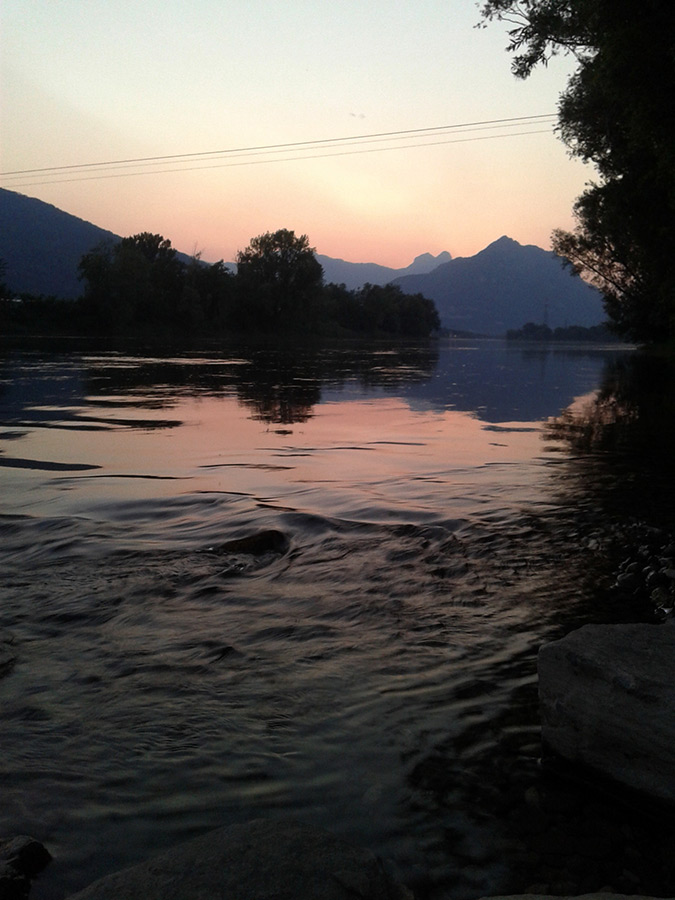 tramonto al Lavello