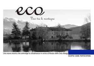 ECO - Volantino raccolta cartoline d'epoca Fronte BN1
