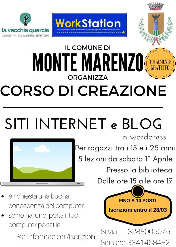 Corso gratuito di creazione siti internet e blog upper for Corso arredatore d interni gratuito