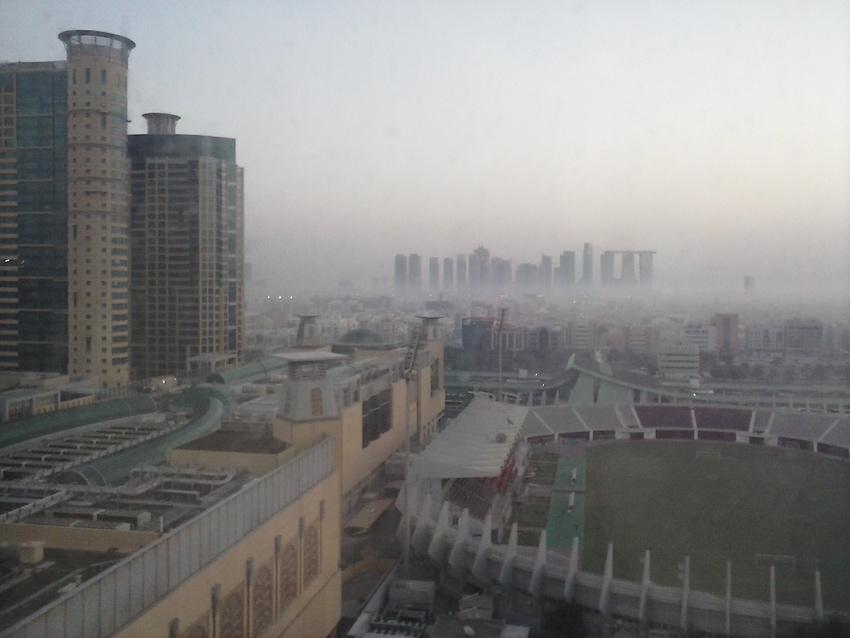 Abu Dhabi - Skyline all'alba