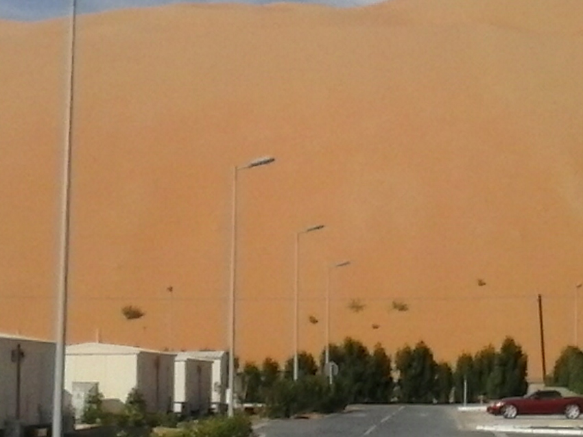 Dune sopra il campo