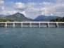 Le foto del giorno di Giorgio Toneatto: le dighe di Olginate completamente alzate (10.06.2020)