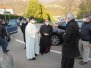 Monsignor Delpini in preghiera a Monte Marenzo (18.03.2021) - Foto Angelo Fontana